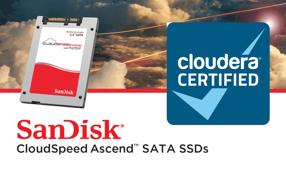 Hadoop CloudSpeed ssd cloudera certified