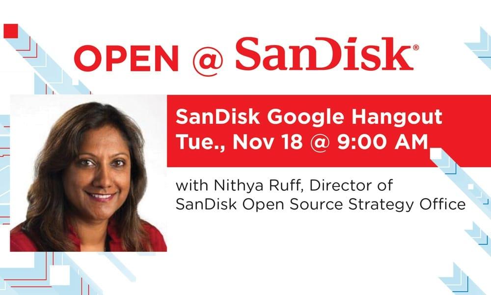 Open Source at SanDisk