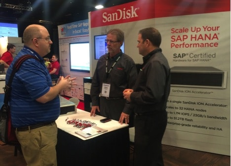 Optimize Your SAP HANA Environment: Visit SanDisk® at HANA 2015 in Las Vegas – Booth #620
