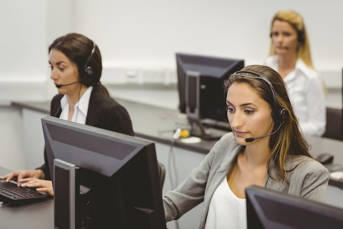 VDI desktop call center