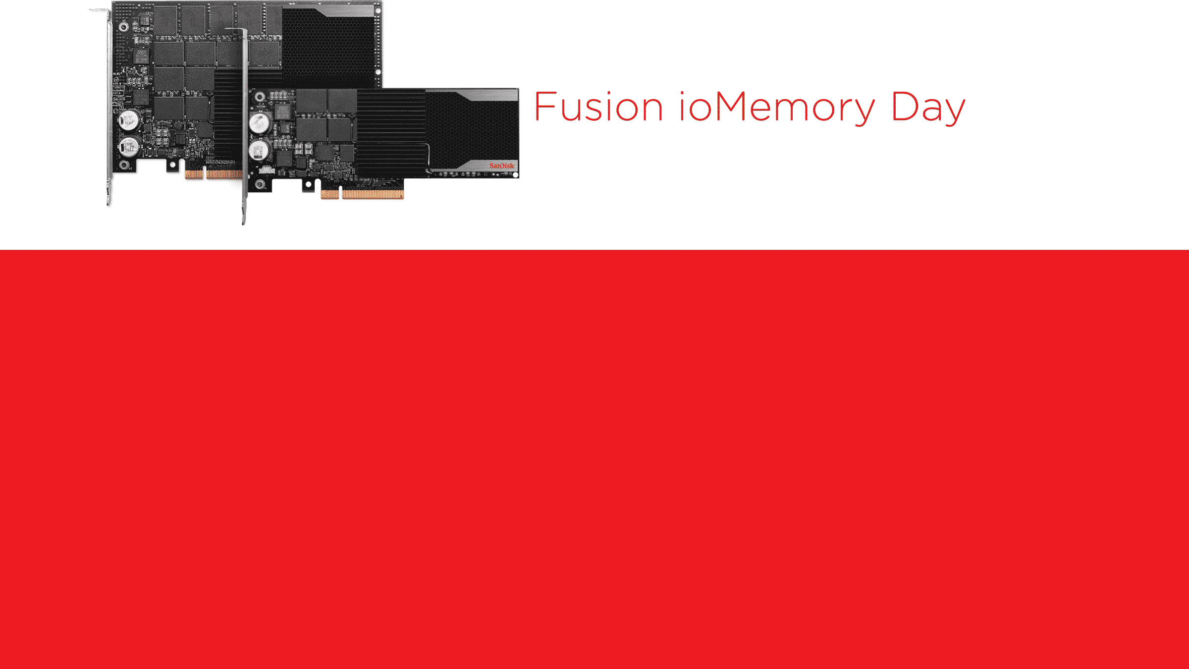 Fusion ioMemory Day