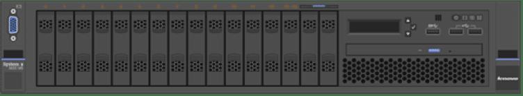 Fig 1: Lenovo System X3650 M5 Server
