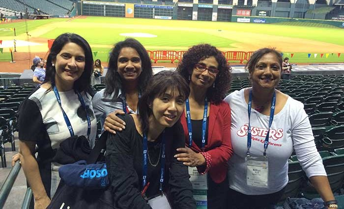GHC15 celebrations at the Astros Ballpark