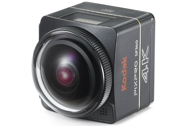 Kodak SP360 4K 360 Degree Cameras