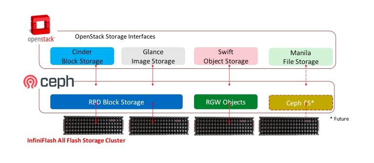 InfiniFlash All-Flash Storage Cluster