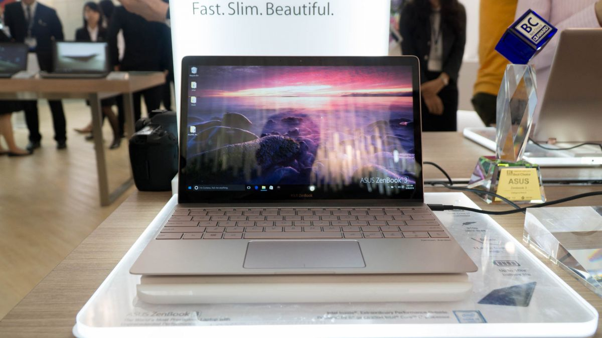 Zenbook 3 at Computex