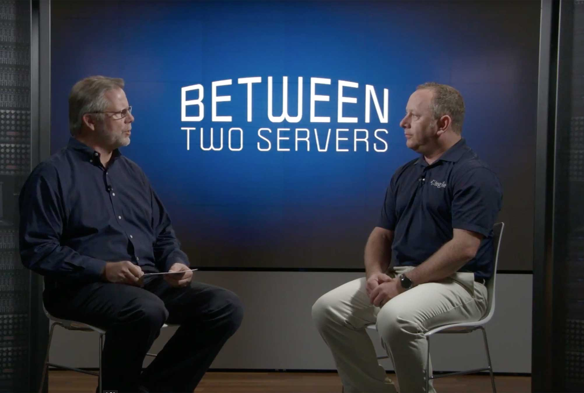 VMworld® Sneak Peek – Tegile Bets on Blue!
