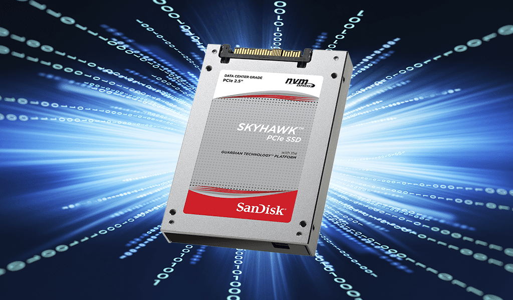 Introducing Skyhawk™ NVMe-compliant SSDs from SanDisk® brand