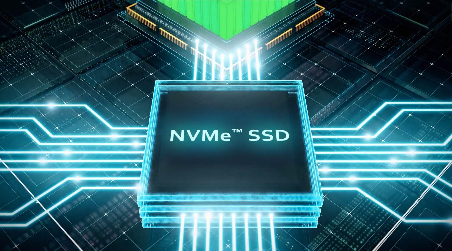 NVMe makes data thrive