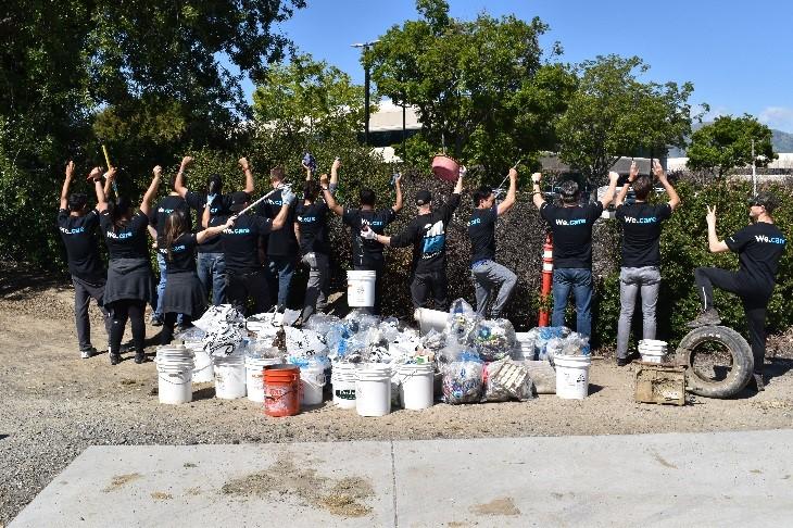 Western Digital Milpitas Coyote Creek volunteers