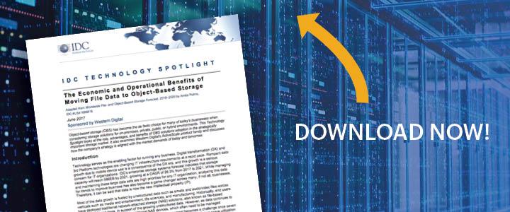 IDC report - object storage