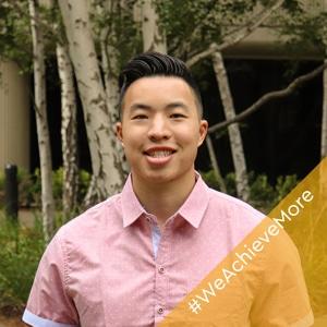 Dillon, a 2018 Western Digital RAMP intern