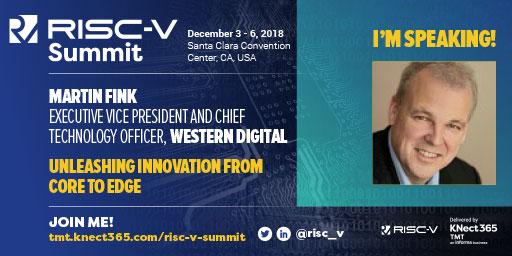 Martin Fink RISC-V Summit