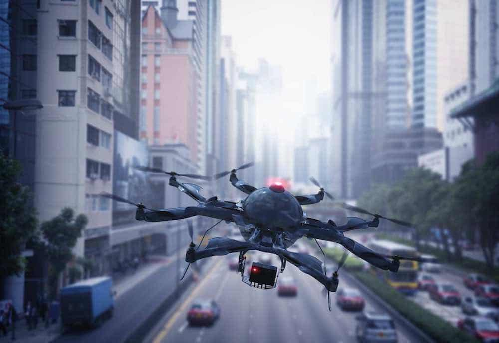 surveillance drone with smart video capabilities