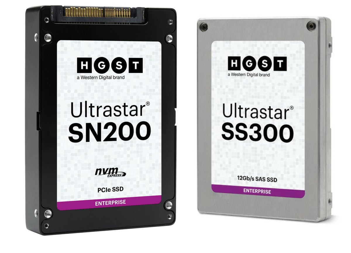 HGST Ultrastar SN200 and Ultrastar SS300