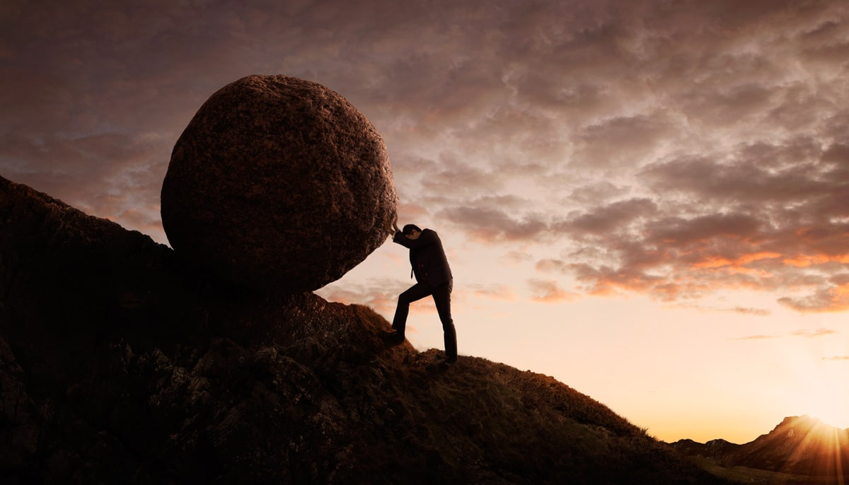 in-memory computing not pushing boulders uphill like Sisyphus