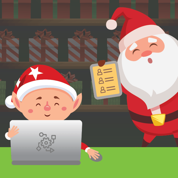 Santa's IoT data journey - Giving an elf his list