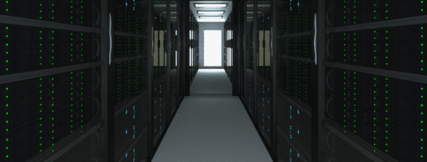 image from a datacenter