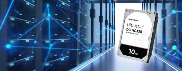 Ultrastar DC HC330 10TB HDD blog image header