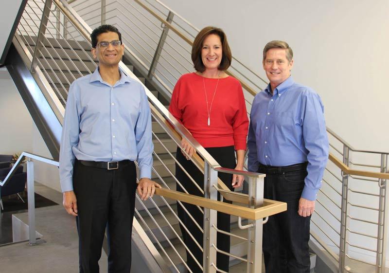 Suraj Rao, JuneAn Lanigan, and Steve Phillpott - CIO 100 Awards