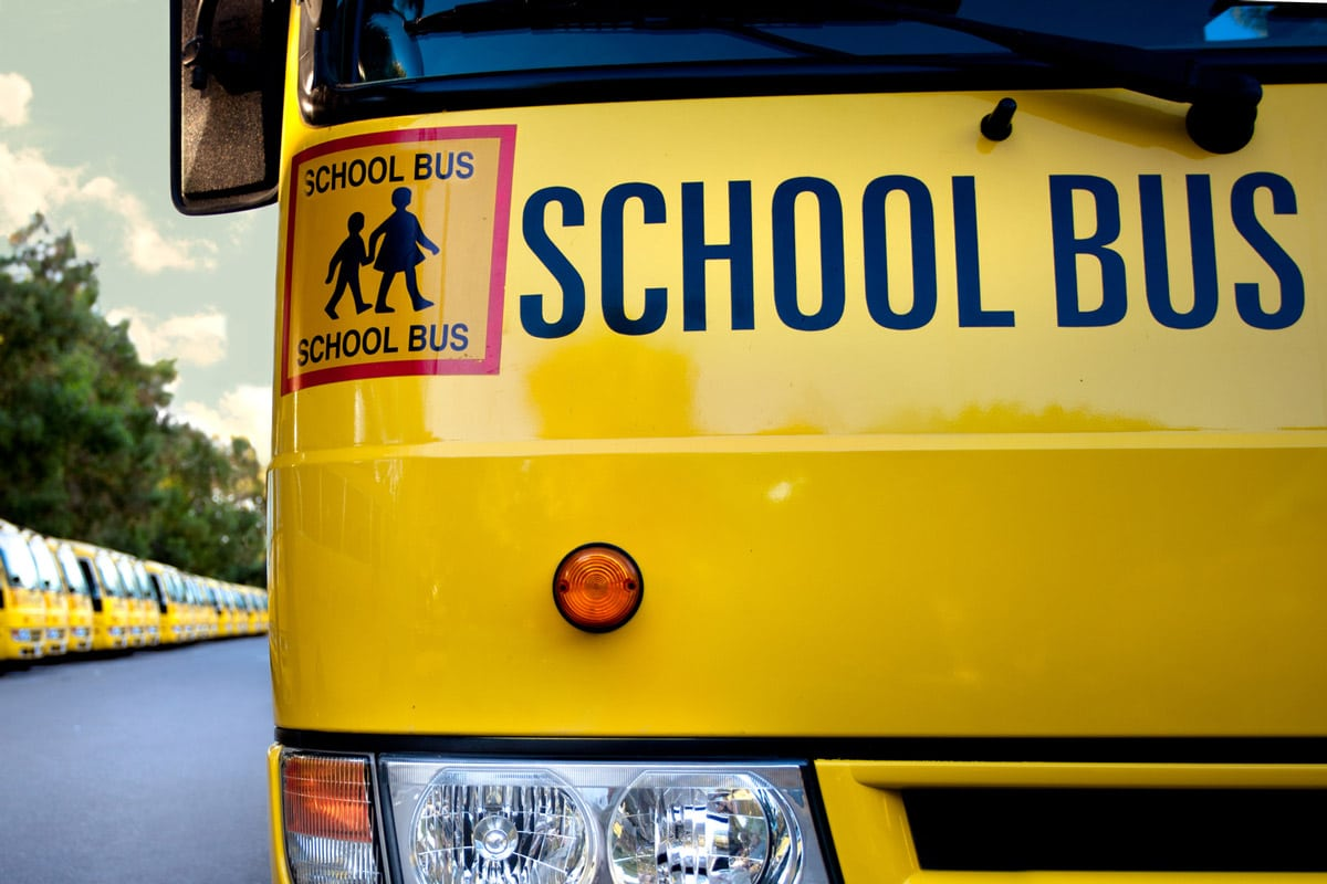 An example of smart fleets with school buses
