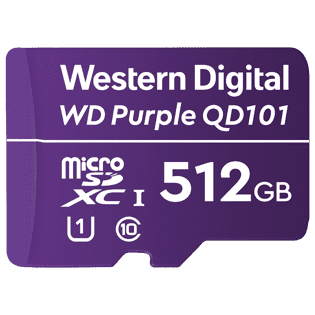 WD Purple QD101, purpose built for smart video and next-generation security cameras.