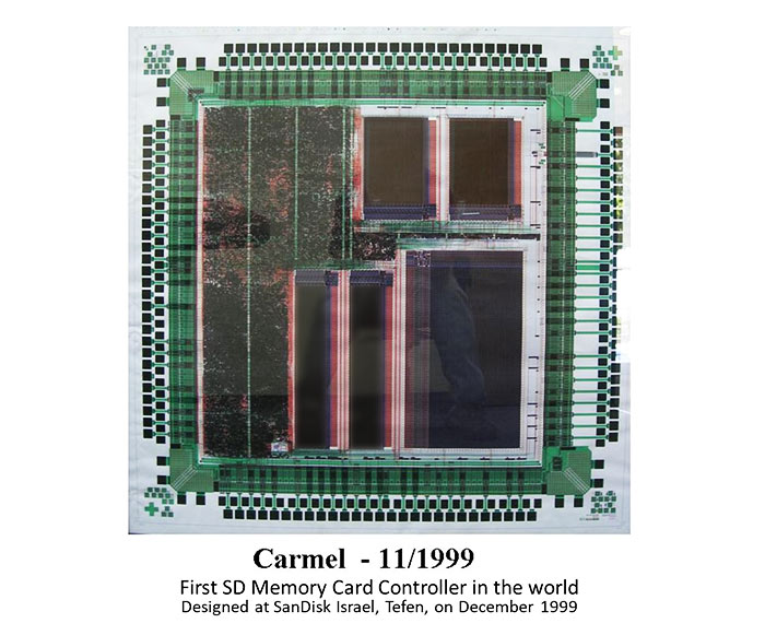 SD card controller Carmel 1999