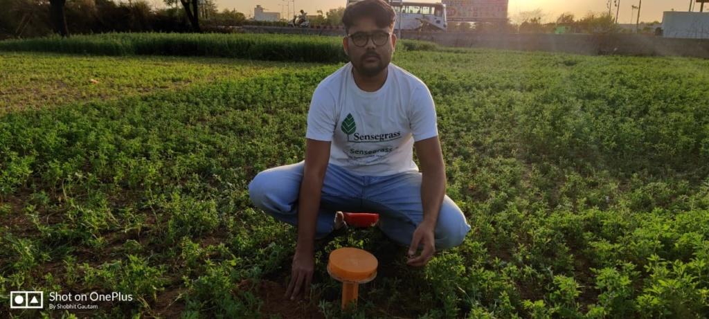 Lalit Gautum, Founder of Sensegrass